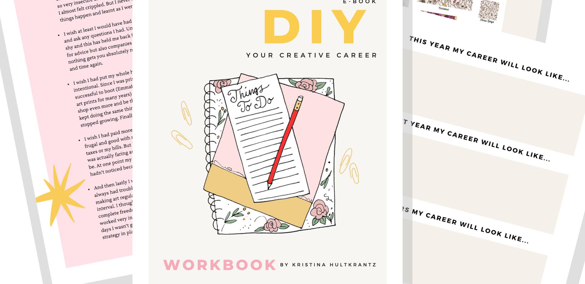 DIY Your Creative Career ebook