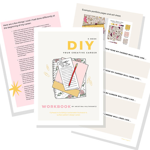 DIY Your Creative Career e-book - Newsletter Special