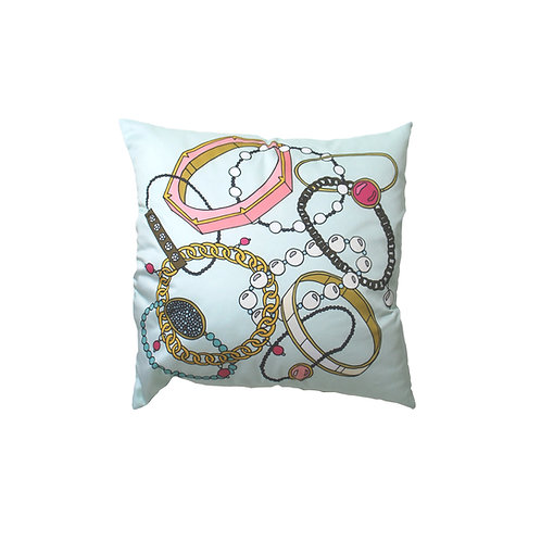 Mint Arm Candy Cotton Pillow Case