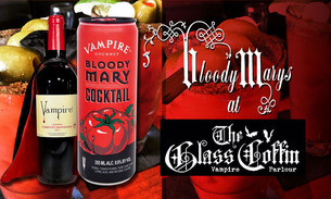 Bloody Marys at The Glass Coffin