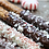 Thumbnail: HOLIDAY CHOCOLATE DIPPED PRETZEL STICKS - 24 count