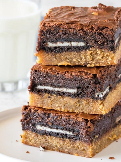 Decadent Chocolate Peanut Butter Brownies