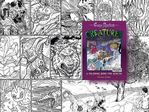 Creatures Coloring Book by Carpe Noctem