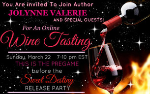 Online Wine and Book Release Party