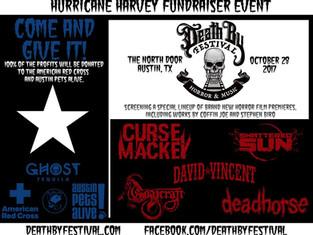 Press Release: Texas Metal & Horror Film Festival Fundraiser for Hurricane Harvey