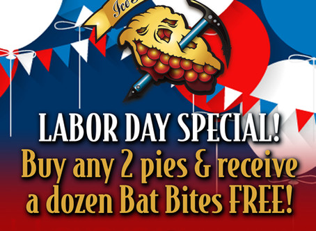 Labor Day Pie Special