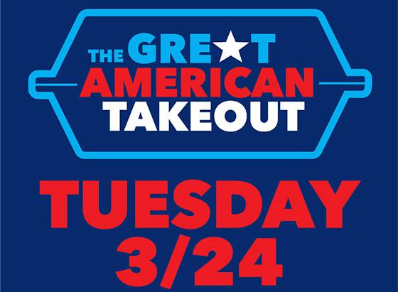 Support Local Restaurants with the Great American Takeout Tuesday