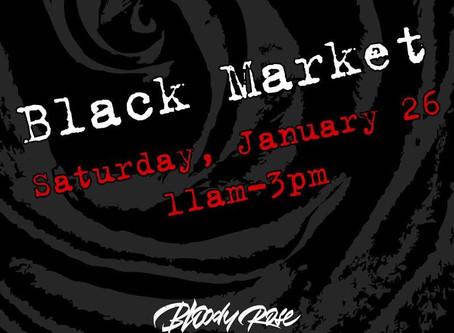 Bloody Rose January Black Market