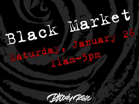 Bloody Rose January Black Market