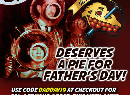Dad Deserves a Pie for Father's Day!