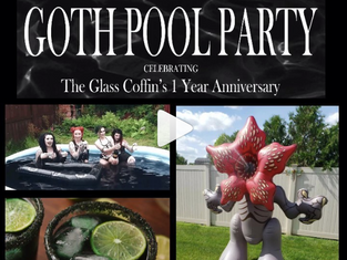 The Glass Coffin Goth Pool Party