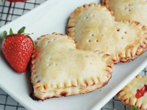 Heart-Shaped Fruit Filled Hand Pies