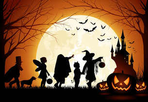 Halloween Blog Hop:  All We Need is Halloween