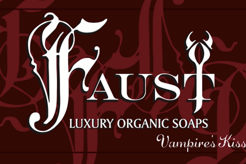 FAUST Luxury Soaps - Vampire's Kiss