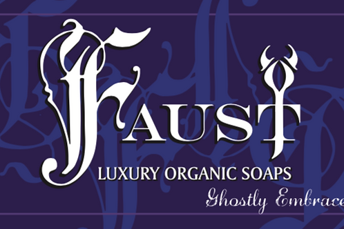 FAUST Luxury Organic Soaps - Ghostly Embrace