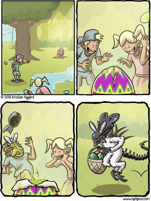 Easter Alien