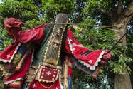 Egoun Egoun Spirits in Revenant Ceremony