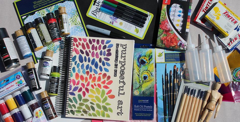 Purposeful Art - Supply List