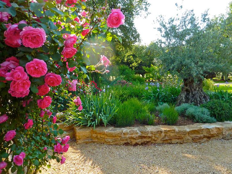 Le jardin Est