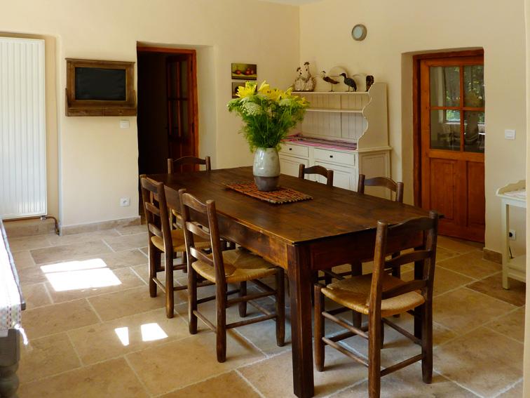 La salle à manger, maison annexe
