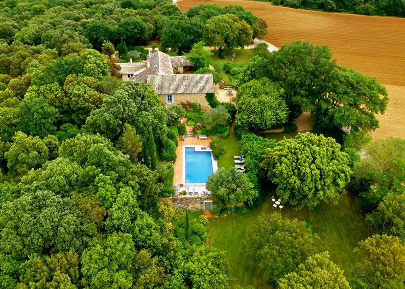 Le jardin de la piscine
