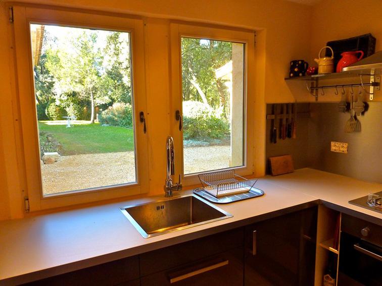 La cuisine de la maison annexe