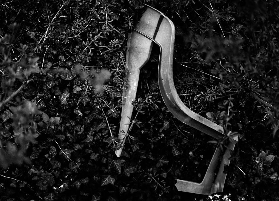 Lost garden furniture