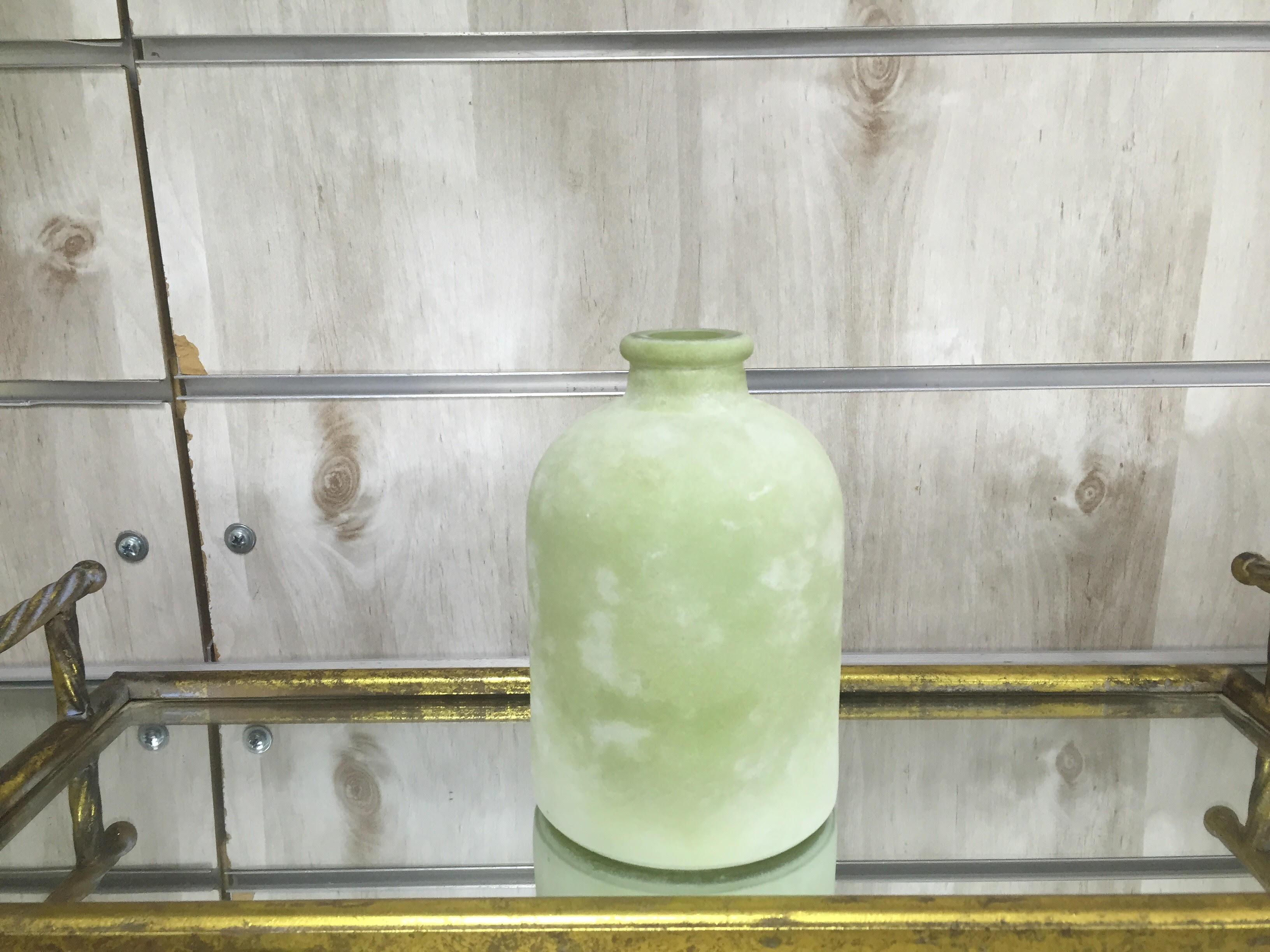 בקבוק ירוק מט 18 סמ