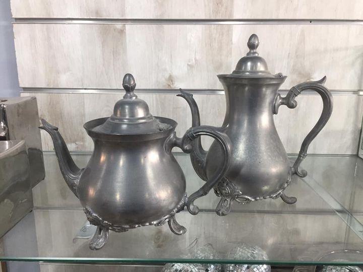 קומקום תה מרוקאי כסף