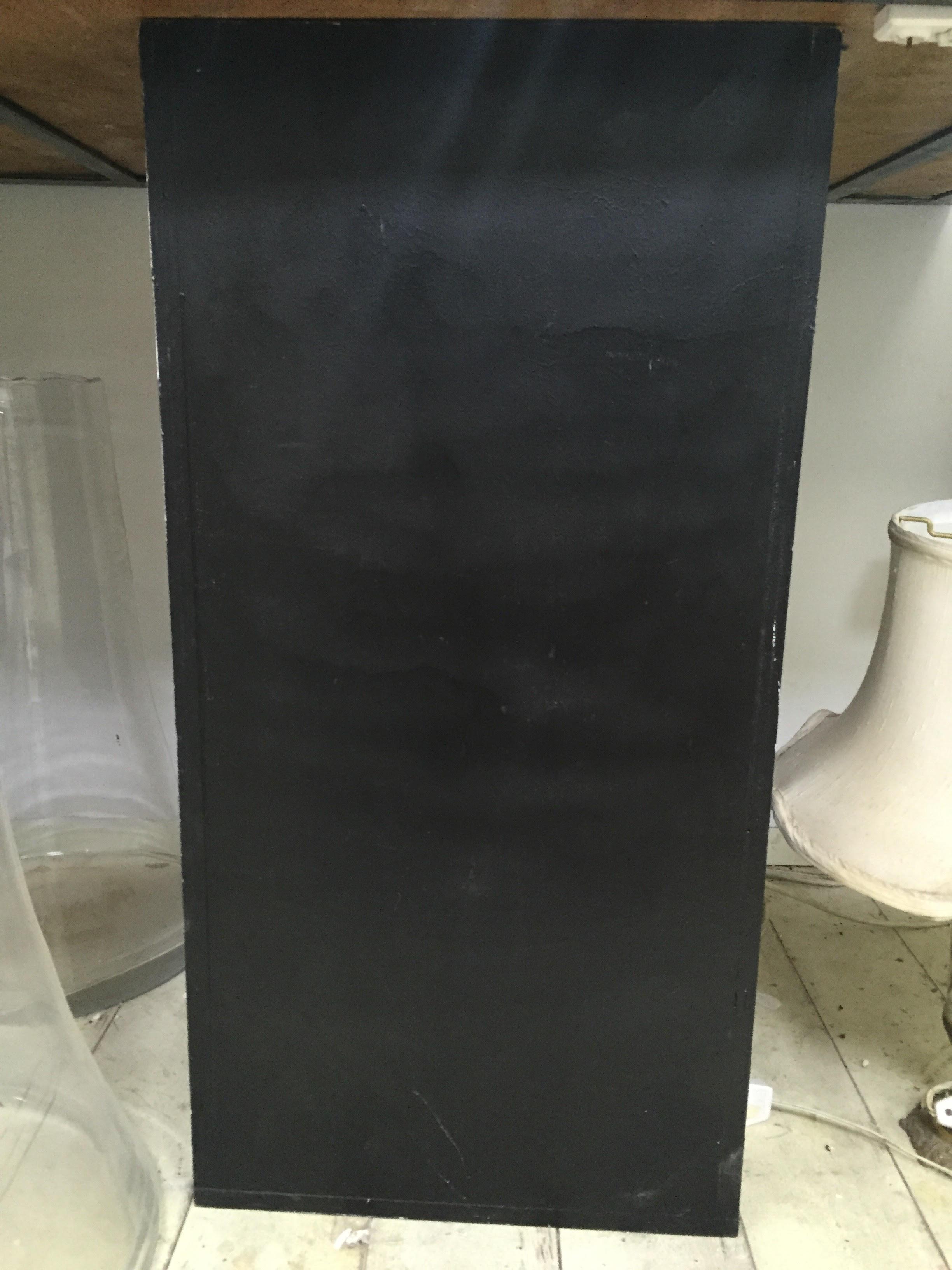 פודיום שחור