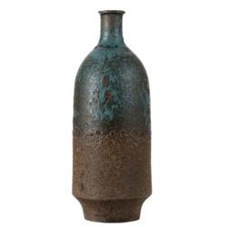 בקבוק חרס חום ירוק גובה 40 סמ
