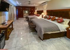 Dormitorio Kokopelli con 2 camas king