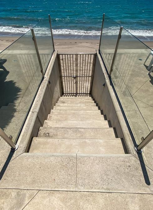 Escaleras a la playa