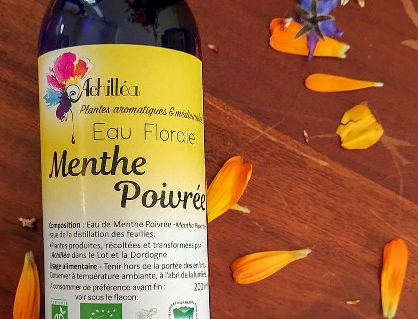 Menthe poivrée - Eaux Florales Essentielles