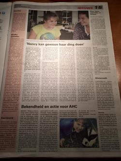 Telegraaf - oktober 2015