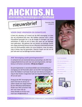 AHC Kids Nieuwsbrief 2020