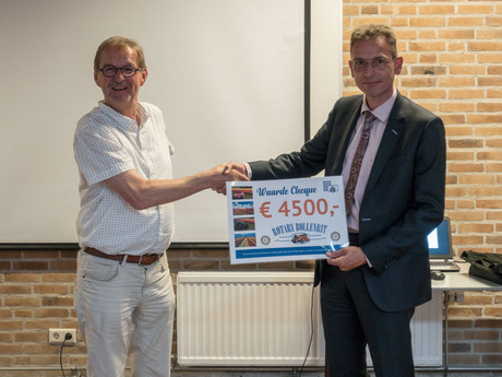 Enorme donatie Rotary Rijnswoude