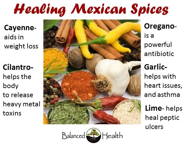 Healing Mexican Spices