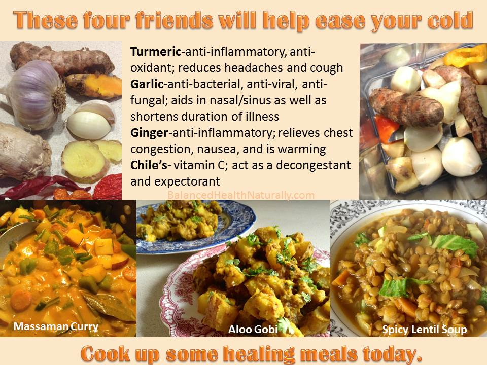 Meals for a cold