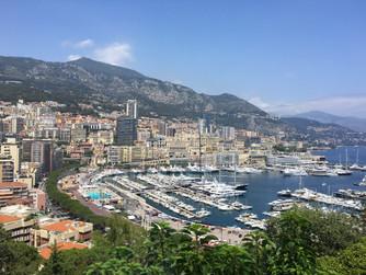 Monaco on the French Riviera