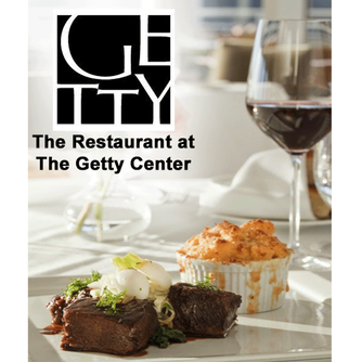 The Getty Center and The Restaurant in Los Angeles, California