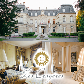 We loved visiting Domaine Les Crayeres and enjoyed a fabulous lunch at Brasserie Le Jardin