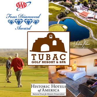 Enjoy a stay at the wonderful Tubac Golf Resort & Spa and the delicious food at Stables Ranch Gr