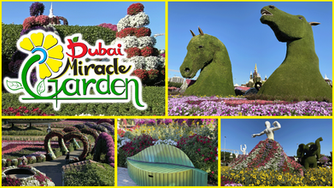 We loved visiting the incredible Dubai Miracle Garden