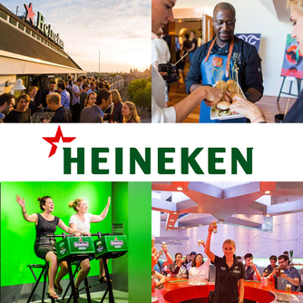 We took The VIP Tour at The Heineken Experience in AMSTERDAM and loved it!