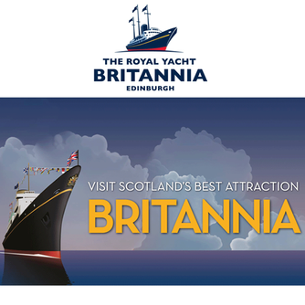 We took an interesting tour of The Royal Yacht Britannia in Edinburgh Scotland
