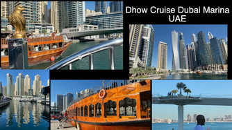 Enjoy the beautiful Dubai Marina from a wooden dhow