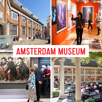 We loved visiting the Amsterdam Museum which features a collection highlighting the history of Amste