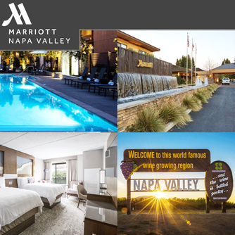 We loved staying at the Napa Valley Marriott Hotel & Spa & enjoyed a wonderful dinner at VINeleven