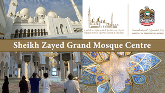 We visited the stunning Sheikh Zayed Grand Mosque in Abu Dhabi and enjoyed an informative free cultu